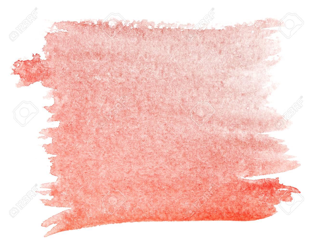 fond d aquarelle rouge cadmium transition en degrade de la couleur du rouge profond au rouge clair elements de design la peinture fond colore grunge sur papier aquarelle banque d images et photos libres