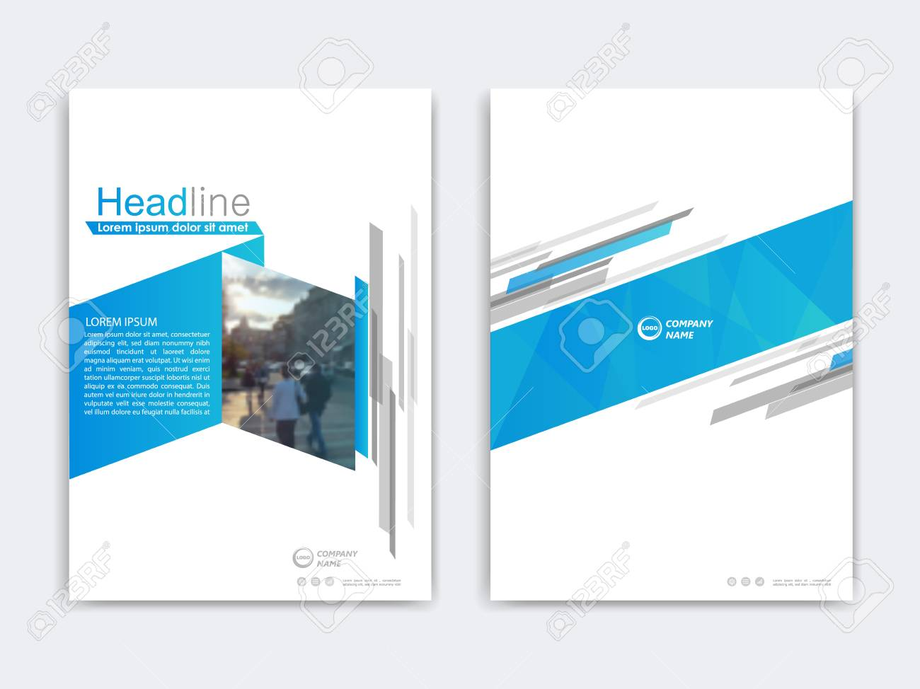 Annual Report Presentation Brochure Front Page Report Book Royalty Free Cliparts Vectors And Stock Illustration Image 68605258