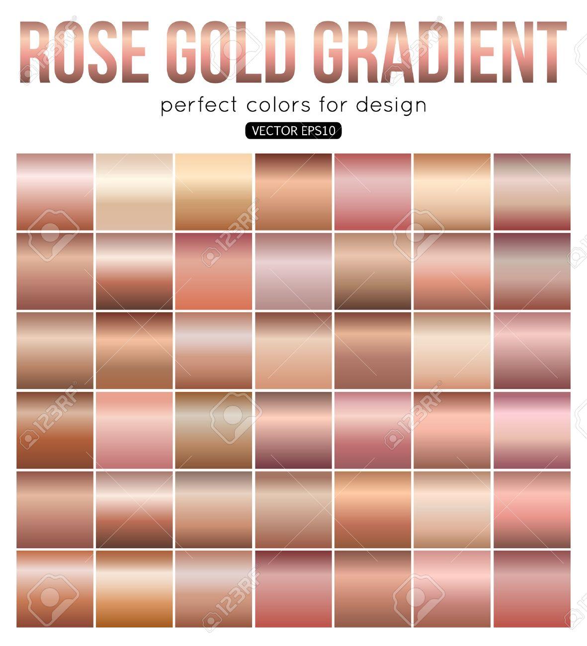banque d images rose degrade des couleurs parfaites or pour la conception vector illustration