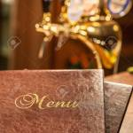 Leather Bar Restaurant Or Cafe Food Menu Stock Photo Picture And Royalty Free Image Image 105400274