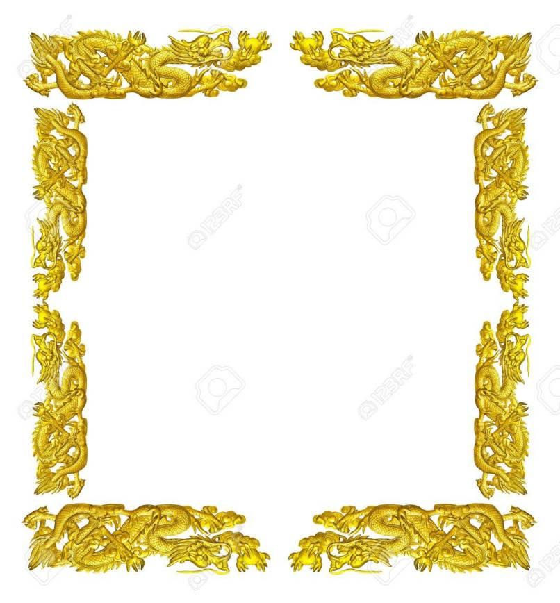 Amazing Dragon Picture Frames Embellishment - Picture Frame Design ...