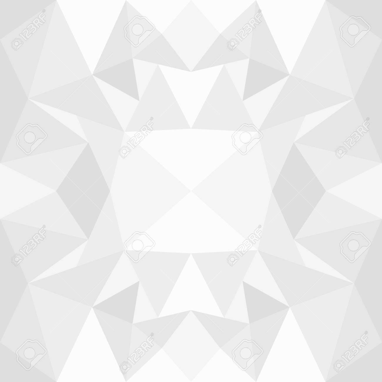 abstrait fond blanc geometrique modele pour la conception de style polygone vecteur de fond