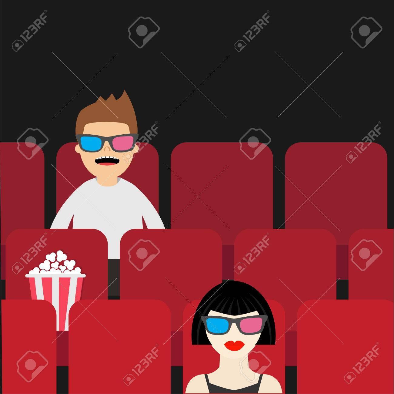People Sitting In Movie Theater Film Show Cinema Background Royalty Free Cliparts Vectors And Stock Illustration Image 56434153
