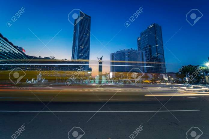 Jakarta Indonesia November 08 2019 The Welcome Monument Stock Photo Picture And Royalty Free Image Image 136650718