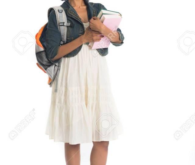 Indian Teenage College Girl Stock Photo 89334565