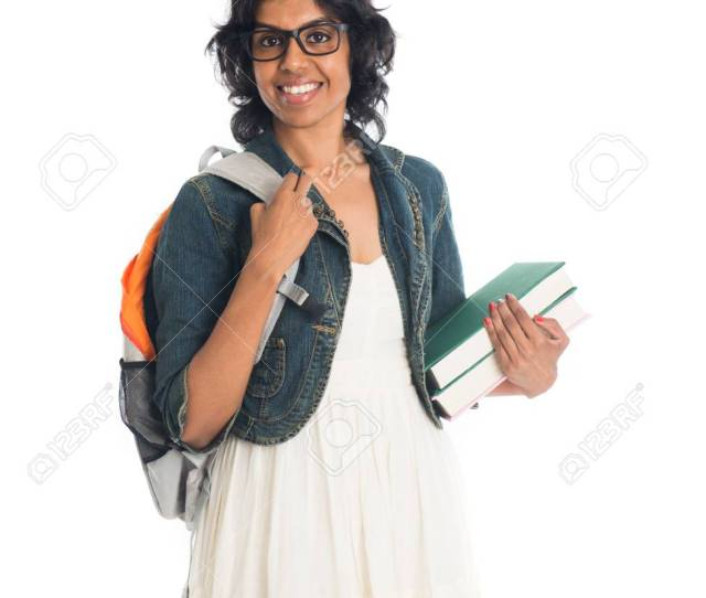 Indian Teenage College Girl Stock Photo 89335513