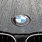Bonnet And Badge Of A Black Bmw 1 Series With Rain Drops Stock Photo Picture And Royalty Free Image Image 6889825