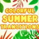 Colorful Summer Transitions
