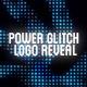 Power Glitch Logo Reveal