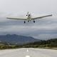 Small Airplane Pass Overhead 01