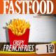 Fast Food Kitchen Video Display