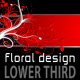 Floral Design LOWER THIRD pack