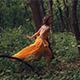 Fairy Tale Girl Running