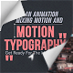 Motion Typography Glitch Titles