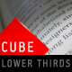 Cube Lower Thirds