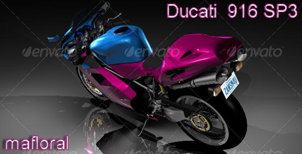 Ducati 916 SP3