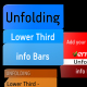 Unfolding Lower third - INFO BARS