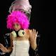 Disco Hairstyle Retro Fashion Burlesque 2