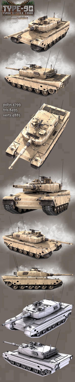 Type-90 Main Battle Tank