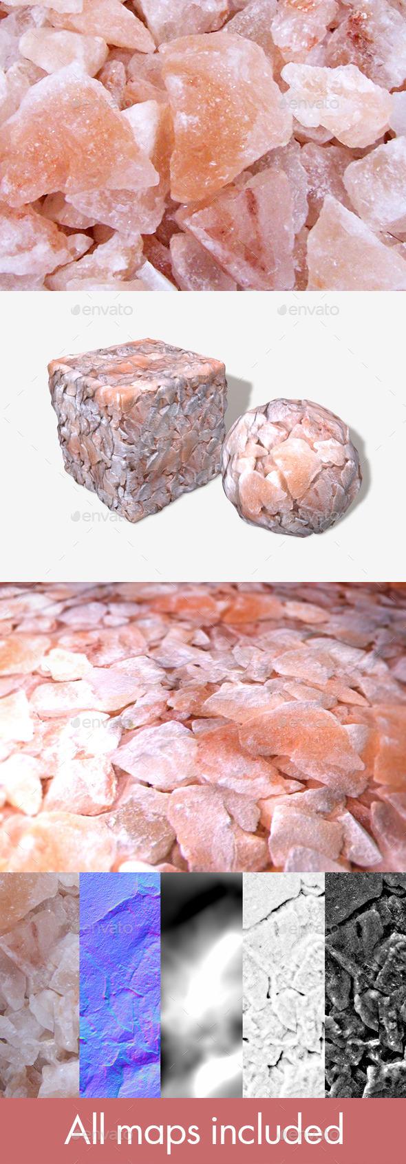 Rose Quartz Geodes Seamless Texture