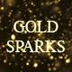 Falling Gold Sparks