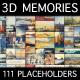 3D Memories — Collage Slideshow