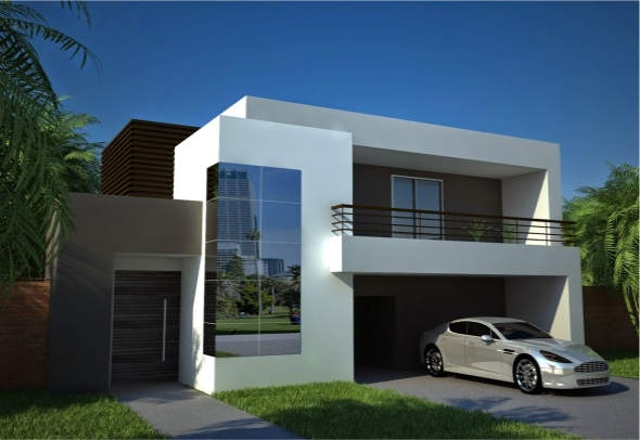 Cinema4D Vray Exterior House | Texture Includes