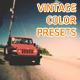 Vintage Film Color Presets