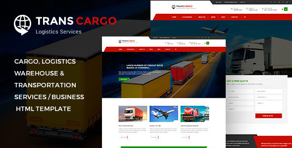 Logistics Templates From Themeforest