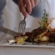 Dishes With Appetizing Food