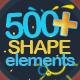 Shape Elements 500