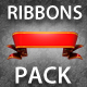 3D Ribbons Pack