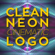 Clean Neon Cinematic Logo