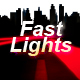 Fast Car Lights Logo Reveal