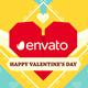 Valentines Day Paper Love