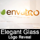 Elegant Glass Logo Reveal