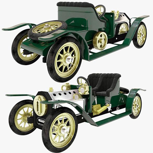 Mamod steam toy car
