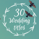 30 Wedding Titles