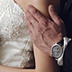 Wedding Lovely Couple Embrace.