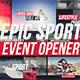Epic Sport Event Opener