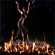 Fire Dancer in The Night