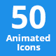 50 Animated Icons