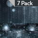 Platinum Particles Rays and Strings Event Background-7 Pack
