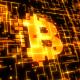 Bitcoin Logo Gold