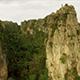 Aerial Limestone Mountain Karst 11