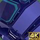 3D Tech Color Background