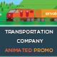 Transportation Company Animated Promo