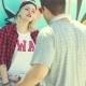 Trendy Urban Girl Chatting With Her Boyfriend