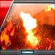 Fire Flame Lava Burn Logo