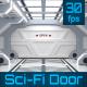 Sci-Fi Door Opening